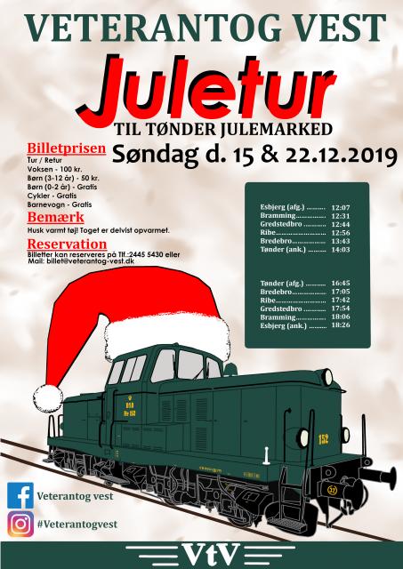 Juletur til Tønder Julemarked